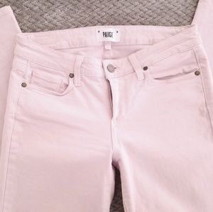 PAIGE cropped skinny